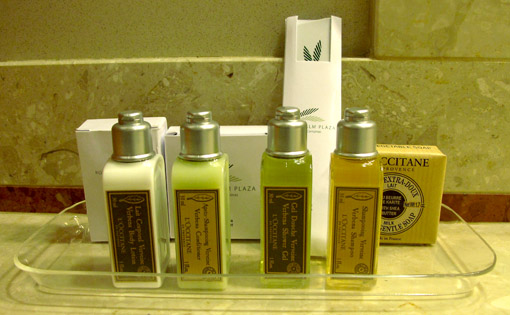 amenities l'Occitane