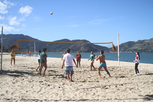 VOLLEY NA PRAIA DO PORTOBELLO RESORT