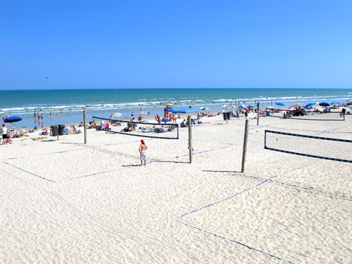 COCOA BEACH redes volley