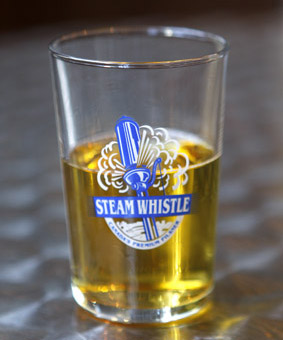 Steam Whistle Brewing TORONTO CANADA glass