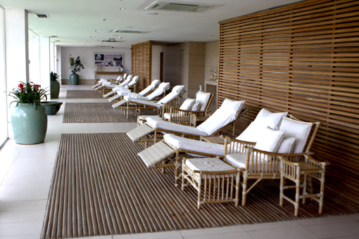 SPA DO SOFITEL JEQUITIMAR GUARUJA