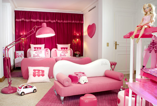 Suite da Barbie Plaza Athenee