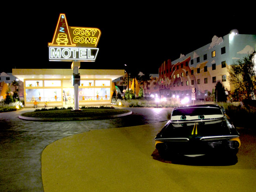 Ala Carros no Art of Animation Resort