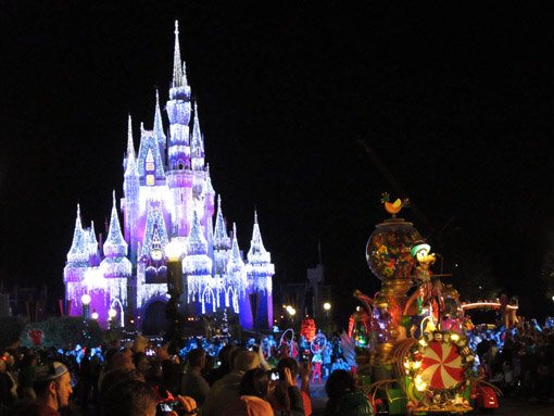 PARADA DE NATAL MAGIC KINGDOM ORLANDO