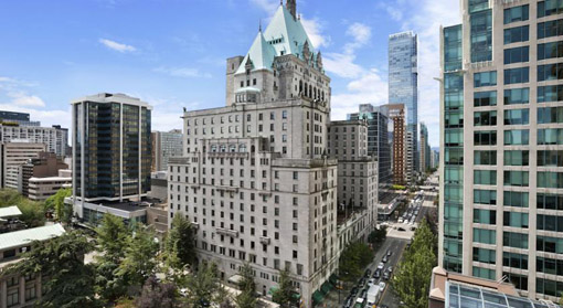 The Fairmont Hotel Vancouver foto do booking
