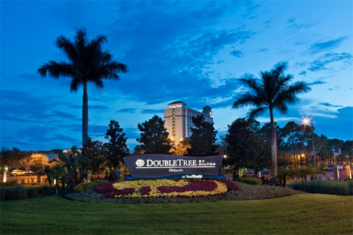 DoubleTree by Hilton Orlando at SeaWorld exterior
