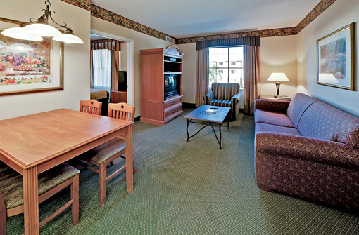 Lake Buena Vista Resort Village and Spa suite sala