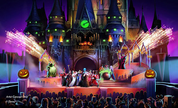 Magic Kingdom terá novo show no Halloween