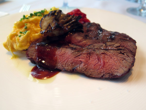Grilled Prime Flat Iron Steak - Restaurante Asiate Mandarin Oriental