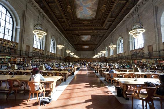 New York Public Library Steven A. Schwarzman Building, Midtown West, Manhattan