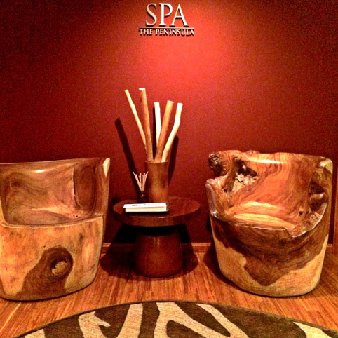 The Peninsula NY - Entrada SPA