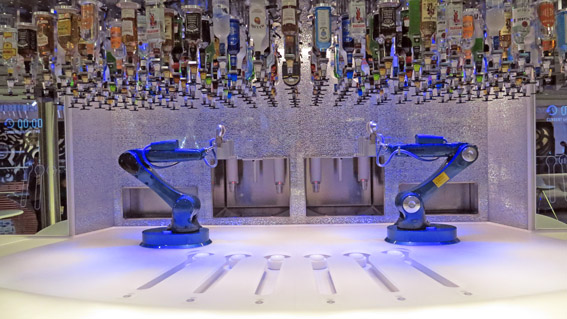 Bionic Bar do Anthem of The Seas