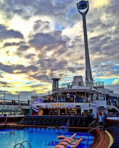 Anthem of The Seas Capsula North Star