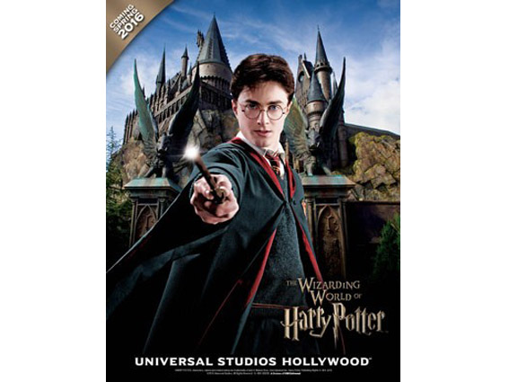 Hogwarts chegará ao Universal Studios Hollywood