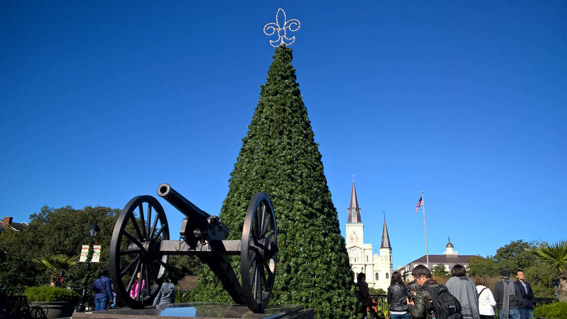 Jackson Square_french quarter New Orleans