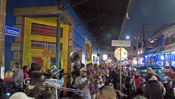 Musica na Frenchmen New Orleans