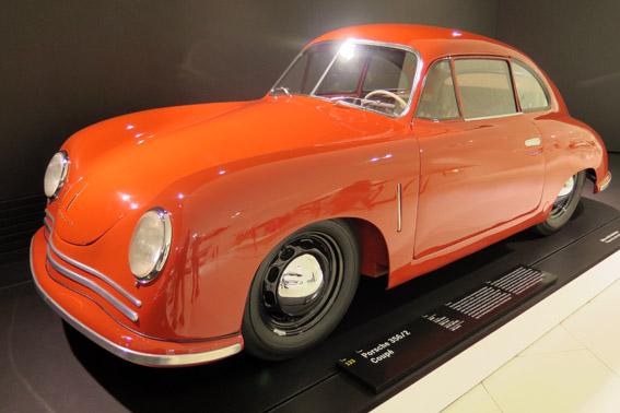 Porsche 356 2 coupe Museu Porsche Stuttgart