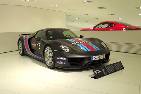 Porsche 918 Spyder Porsche 924 Museu Porsche Stuttgart