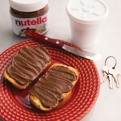 cafe nutella