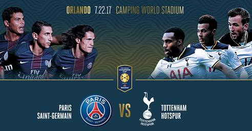 Paris Saint-Germain x Tottenham Hotspur