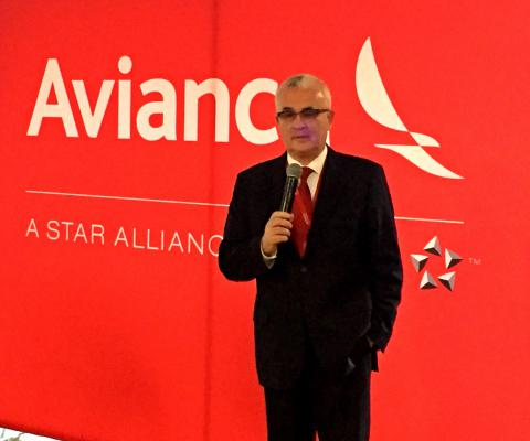 Tarcísio Gargioni, vice-presidente de Marketing, Vendas e Cargas da Avianca Brasil.