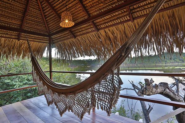 hotel de selva - rede Juma