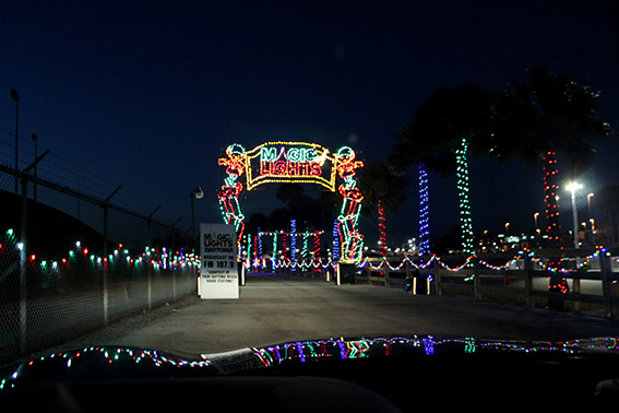 Magic of Lights no Daytona Speedway