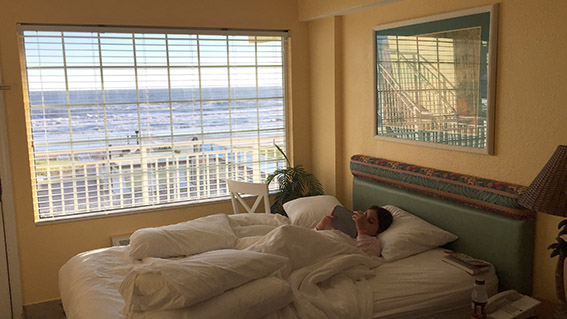 Sea Shells Beach Club Daytona Beach Vi na suite