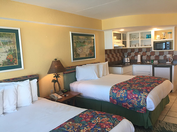 Sea Shells Beach Club Daytona Beach suite