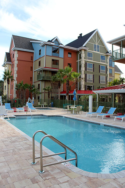 A piscina do TRYP by Wyndham Sebastian St. Augustine
