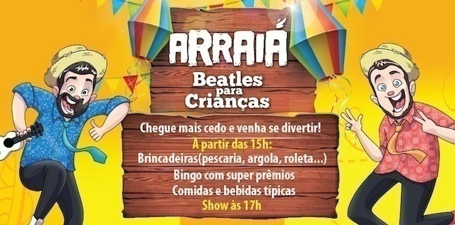 arraia dos beatles