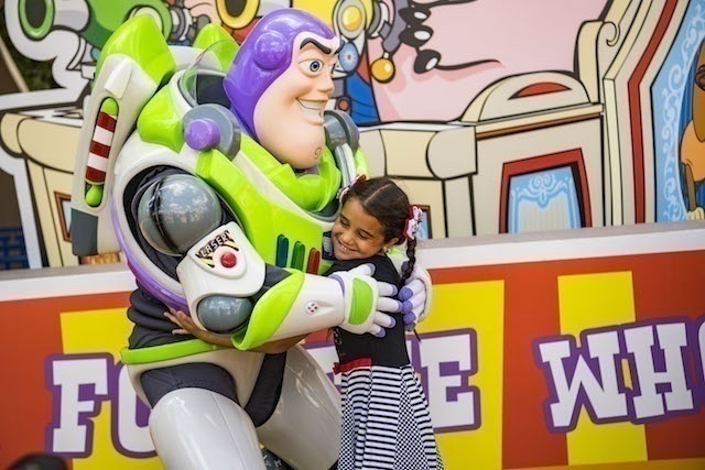 Buzz Lightyear in Toy Story Land