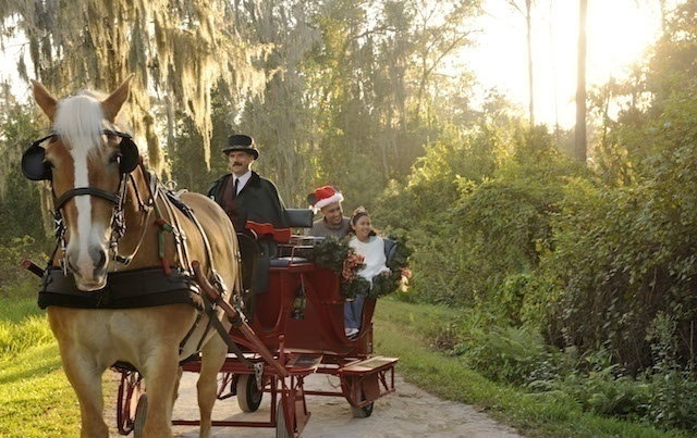 Holiday 'Sleigh' Rides Debut atDisney's Fort Wilderness Resort & Campground