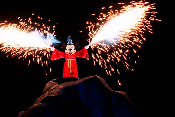 Ver o Mickey na Disney, Fantasmic